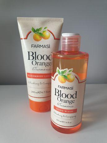 Zestaw czerwona pomarańcza i kurkuma Farmasi