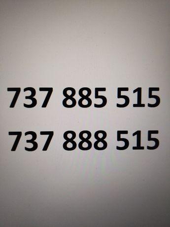 Złote numery dla pary 737.885.515 i 737.888.515 złoty, platynowy numer