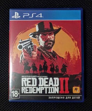 Игра Red Dead Redemption 2 на PS4/Pro/PS5 RUS + Карта!