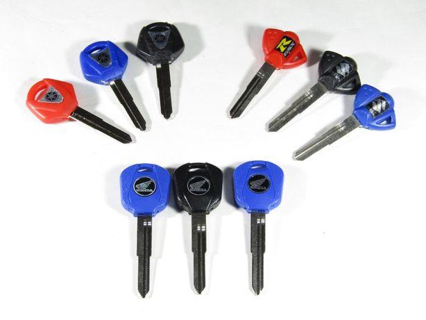 Ключ заготовка ключа с местом под чип Honda Suzuki Yamaha болванка