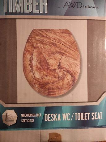 Deska sedesowa AWD Interior Timber wolnoopadająca