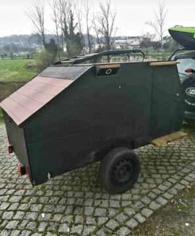 Mini caravana ou transporte de carga