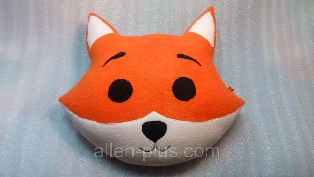 Игрушка-подушка ручной работы Лисенок