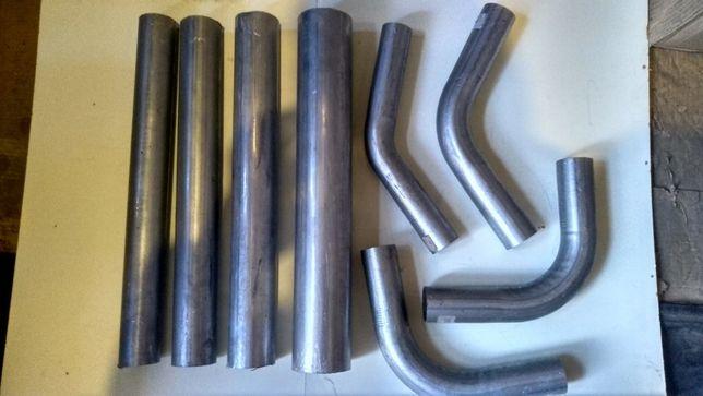 Труба алюмінізована алюминизированная,угли.Гофра рукав Ман,Даф ін.авто