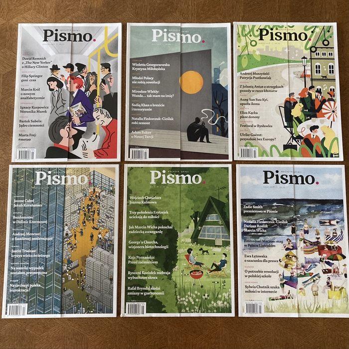 Magazyn Pismo - 10 numerów Warszawa - image 1