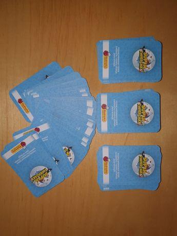 Karty Super Zwierzaki Biedronka - 190 sztuk