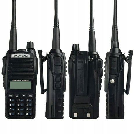 Radiotelefon UV82 8w Policja,Straż,PKP, Odblokowane Skaner Super Moc!