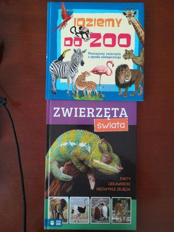 Idziemy do zoo i Zwierzęta świata Zielona Sowa