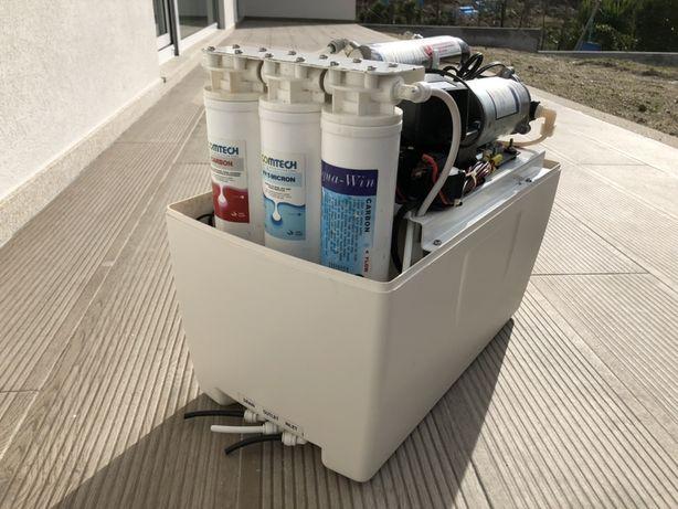 Máquina tratamento água poço ou furo