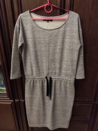 Reserved sukienka M z dzianiny, polecam!