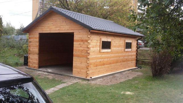 Garaże wiaty drewniane na wymiar Produkcja
