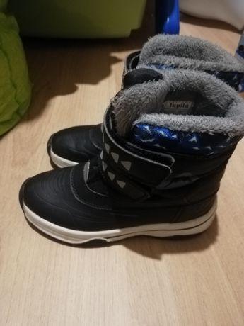 Buty zimowe, kozaki chłopięce 30 Lupilu