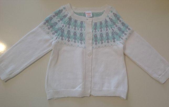 Нарядная кофта для девочки кардиган свитер худи 92 см Gymboree США