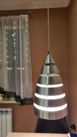 Lampa aluminium szczotkowane.
