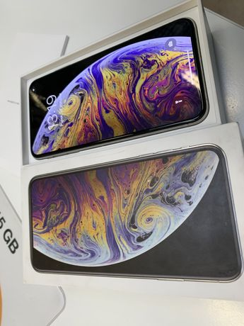 iPhone XS MAX silwer 64 gb