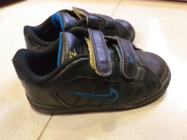 Półbuty dziecięce chłopięce czarne Nike 25