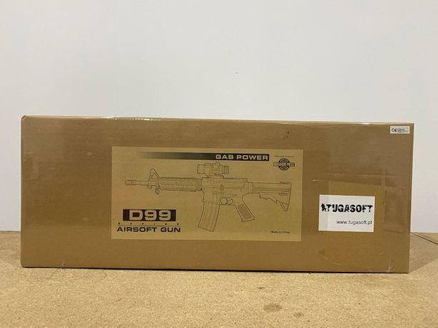 Metralhadora Airsoft WELL M4 D99 Nova Selada na Caixa