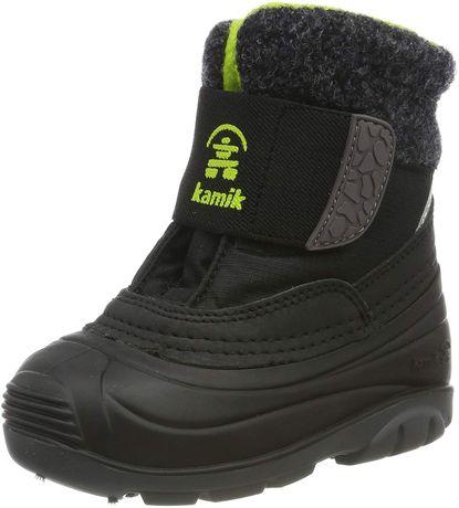 Ботинки зимние новые Kamik, 25, 26 р. Для мальчика и для девочки
