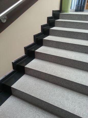 Schody Granitowe Stopnie Trepy Stopnica Płyty Kamienne Granit Kamień