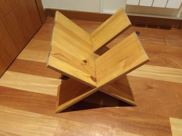 Porta revistas em madeira