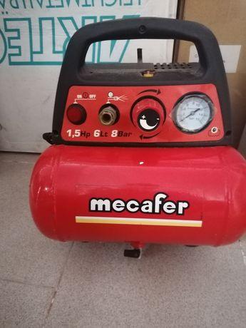 Compressor Mecafer (como novo)