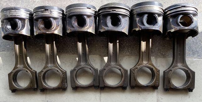 Поршня-Шатуни BMW мотор м57n2