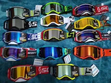 *Liquidação total* Óculos Motocross/Downhill/Enduro Scott Fox 100%