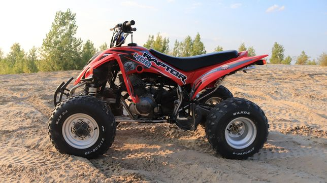 Yamaha raptor 350 400