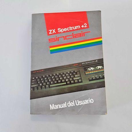 Livro Manual de Instruções ZX Spectrum+2 (Espanhol)