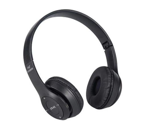 Fones de ouvido bluetooth fone de ouvido estéreo dobrável com microfon