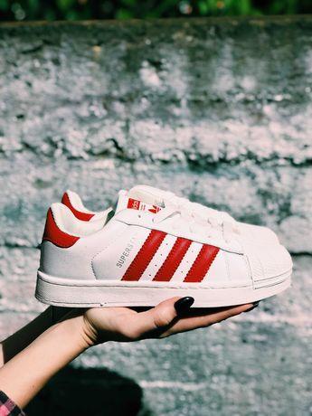 Кроссовки белые Adidas Superstar White Superstar Pro Model ТОП!