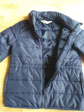 Śliczna kurtka przejściowa, wiosna/jesień r.122 , h&m