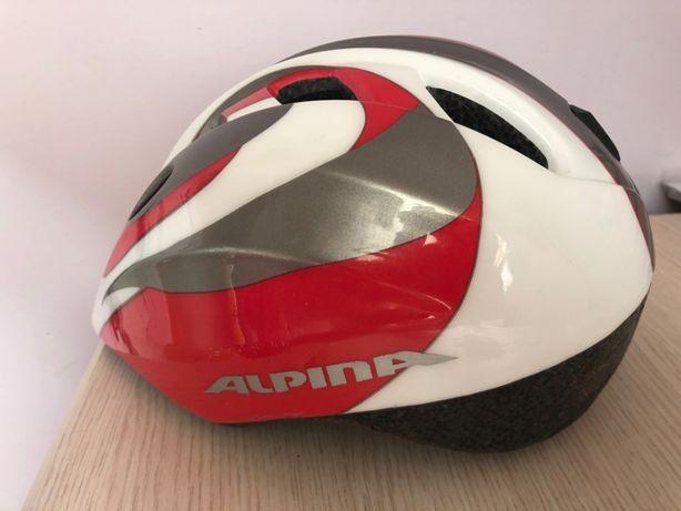 Kask rowerowy dziecięcy ALPINA