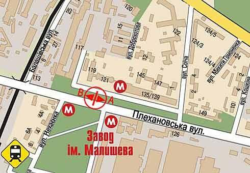 Продам 2-х ком. кв. гостинного типа возле метро з-д Малышева