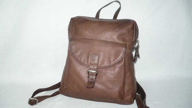 Estelle Италия женский натуральный кожаный рюкзак шкіряний рюкзак