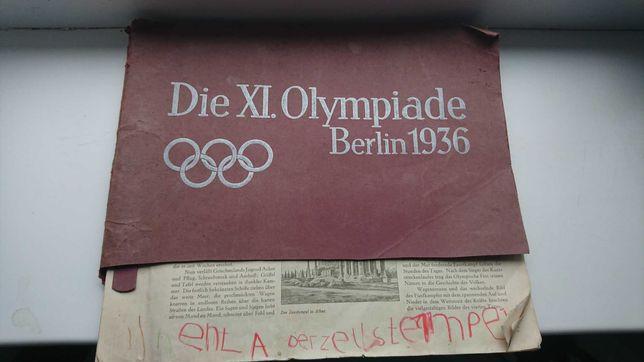 Альбом в фото  Олімпіада 1936 Німеччина .