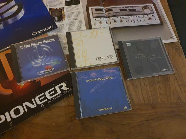 Pioneer, Kenwood, Bose- Płyty testowe CD