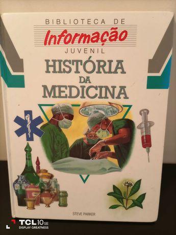 """""""história da medicina"""" - biblioteca de informação juvenil"""