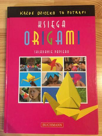 Książka Księga Origami składanie papieru dla dzieci
