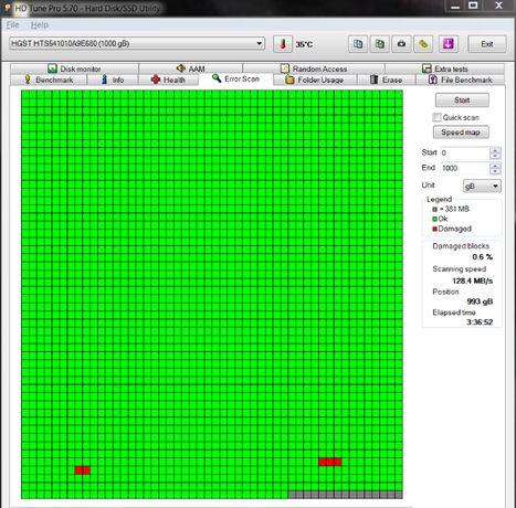 Жесткий диск для ноутбука Hitachi 1TB