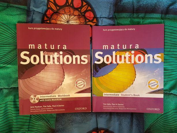 matura Solutions + CD język angielski
