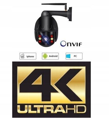 8MPX 4K kamera zewnętrzna obrotowa WIFI PTZ Auto Tracking