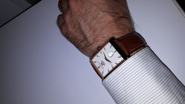 Наручные Японские позолоченые часы Orient! ОРИГИНАЛ!