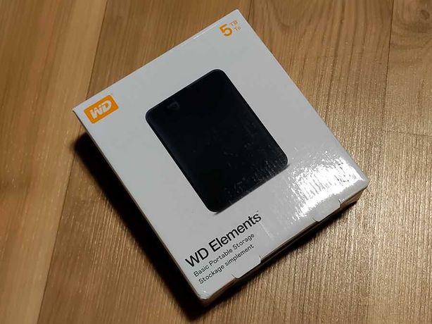 Жорсткий диск WD Elements Portable 5 TB (WDBU6Y0050BBK)