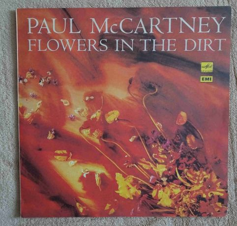 "Płyta winylowa Paul McCartney ""Flowers in the dirt"""