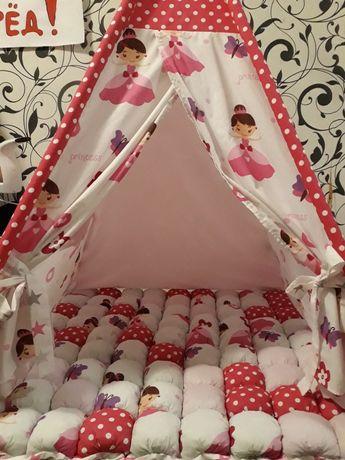 Вигвам для детей, детский домик, палатка для малышей