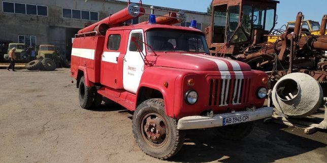 пожарная машина АЦ 30 на базе ГАЗ 53
