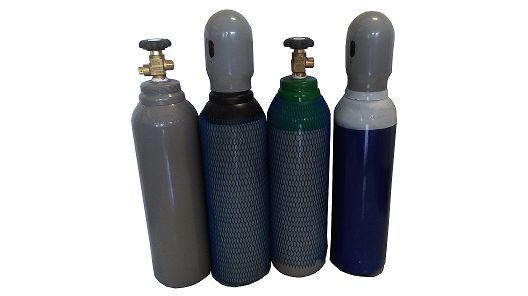 Nowa lekka pełna butla tlen argon azot co2 dwutlenek 5L 200BAR