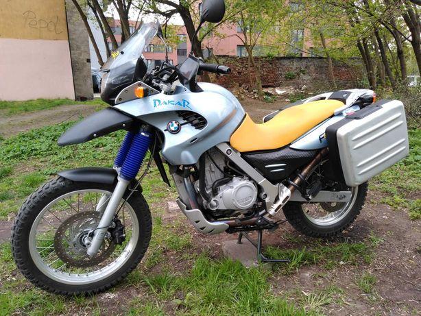 BMW F650 GS rok 2002, przebieg 26700 km