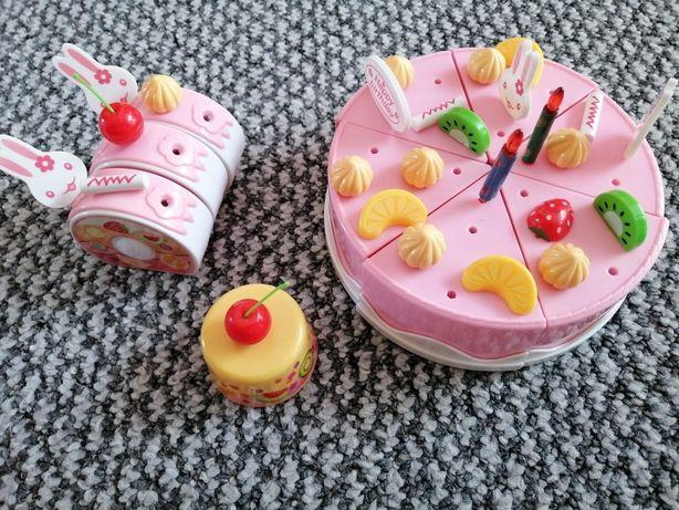 Tort urodzinowy, zestaw na urodziny